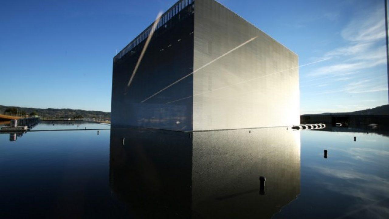 """Data Center Altice Covilhã ou """"Cubo"""", como é conhecido. Um prodígio tecnológico e arquitetónico na cidade da Covilhã!"""