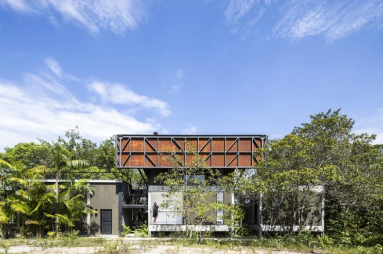 Uma casa ecológica no Brasil maravilhosamente desenhada para proteger o ambiente